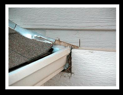 new construction gutter installation problem